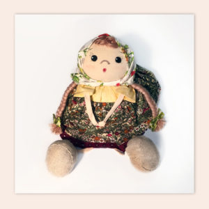 "Soft toy ""Glasha doll"""